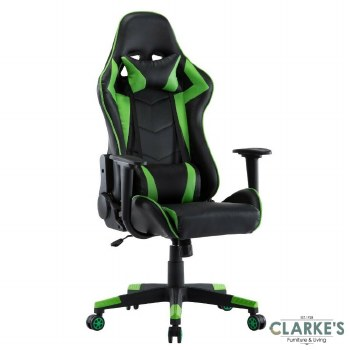 Neo Gaming, Computer Recliner Chair Green