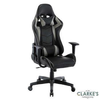 Neo Gaming, Computer Recliner Chair Grey