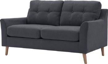 Olten 2 Seater Grey Sofa