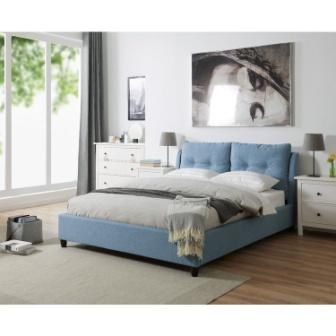 Oslo Bed Blue 4ft6