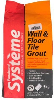 Panabond Ivory Tile Grout 5kg
