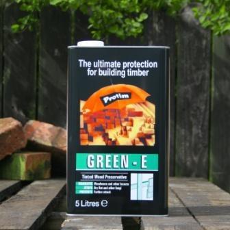 Protim Green E Solution in Organic So lvent 5 Litre