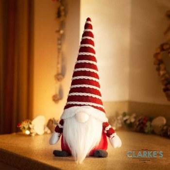 Gonkert Red Christmas Figure