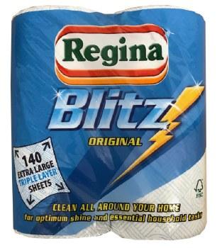 Regina Blitz Kitchen Roll 2pk