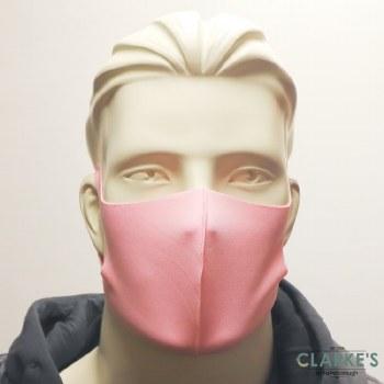 Reusable Fabric Face Mask Pink