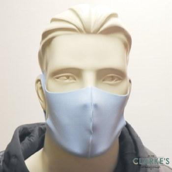 Reusable Fabric Face Mask Light Blue