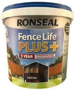 Ronseal Fence Life Plus Dark Oak 5L