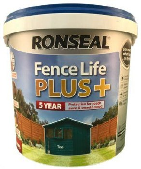 Ronseal Fence Life Plus Teal 5L