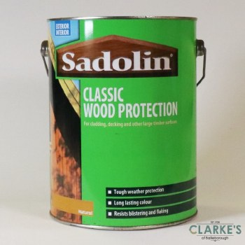 Sadolin Classic Woodstain Natural 5 Litre