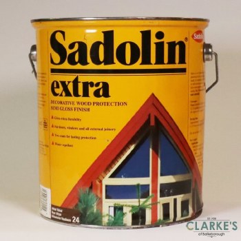 Sadolin Extra Woodstain 24 African Walnut 5 Litre