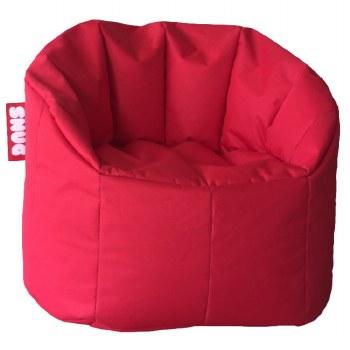 Snug Bean Chair Red
