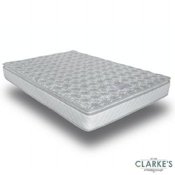 Soft Clouds Pillow Top 4ft6 Mattress. FREE nationwide delivery!