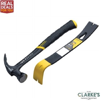 Stanley FatMax Antivibe 20oz Hammer with Bar