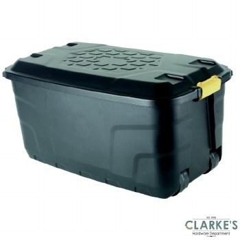 Strata Heavy Duty Storage Box with Lid 145L