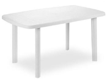 Progarden Plastic White Garden Table