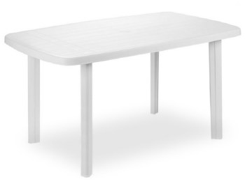 Oval Platic Table