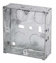 1G 25mm Galvanised Box