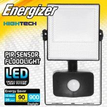 Energizer LED 10W Floodlight with PIR Sensor