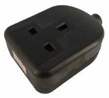 1 Gang Rubberised Extension Socket