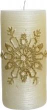 Wax Pillar Candle 7x15cm