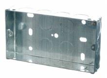 2G 25mm Galvanised Box
