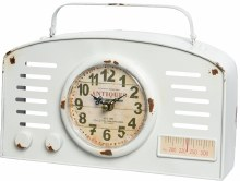 Iron Clock Radio
