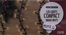 Lumineo Compact 1000 LED (22.5m) Christmas Warm White Lights