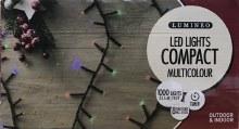 Lumineo Compact 1000 LED (22.5m) Christmas Multicolour Lights
