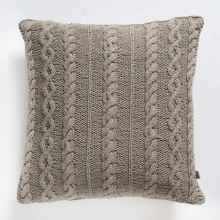 Kilburn & Scott Cable Knit Cushion Natural