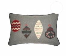 Kilburn & Scott Christmas Baubles Cushion