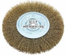 F.F. Group Wheel Wire Brush 125mm