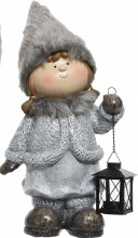 Clay Christmas Figure