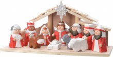 Nativity Wooden House