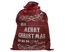 Red Christmas Gift Sack
