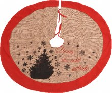Tree Skirt with Deasign 86cm