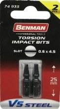 Benman Impact Bits Slot 0.6x4.5mm