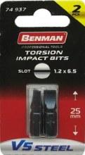 Benman Impact Bits Slot 1.2x6.5mm