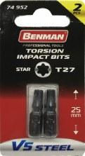 Benman Impact Bits Star T27