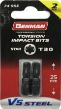 Benman Impact Bits Star T30