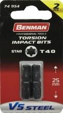 Benman Impact Bits Star T40