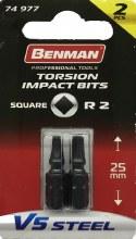 Benman Impact Bits Square R2