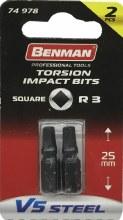 Benman Impact Bits Square R3