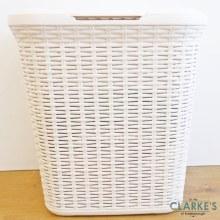 Anika Rattan Laundry Basket