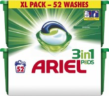 Ariel 3 in 1 Pods 52 Tablets