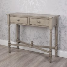 Oyster Grey Console Table