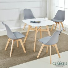 Baxter Dining Set | Table and 4 Chairs