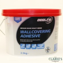 Beeline Medium Grade Ready Mixed Wallcovering Adhesive 2.5 Litre