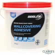 Beeline Medium Grade Ready Mixed Wallcovering Adhesive 5 Litre