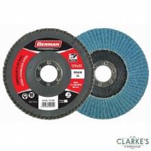 Benman Abrasive 115mm Flap Disc Grade 120