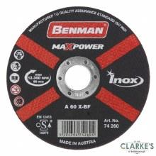 Benman Inox Cutting Disc 115mm